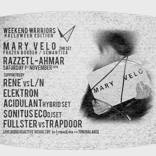 Sonitus Eco - Dj set @ weekend warriors Feat Mary Velo