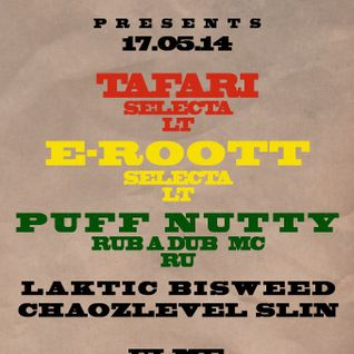 Tafari meets Mc Puff Nutty live @ Srictly Dub Records session (17-05-2014,Tallinn, Club Ulme)