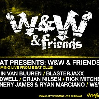 W&W - Live @ W&W and Friedns, Beat Club, ADE 2013 (Amsterdam) - 16.10.2013