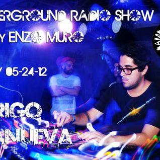 LA Underground Radio Show w/ RODRIGO VILLANUEVA (4BeatsPeru) hosted by Enzo Muro