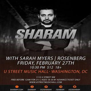 Sharam  - Live At U Street Music Hall, Washington DC (Wildcast 085) - 27-Feb-2015