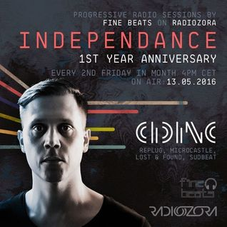 Independance 1st Year Anniversary@RadiOzora 2016 May   Cid Inc Exclusive Guest Mix
