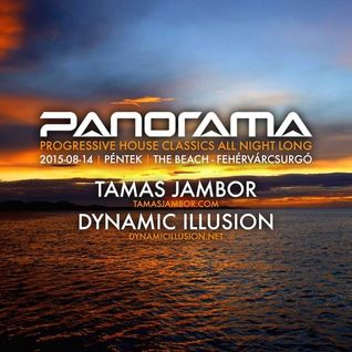 Panorama - Progressive  House Classics Live 20150814 - Mixed by Tamas Jambor