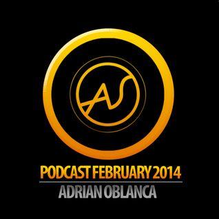ADRIAN OBLANCA @PODCAST FEBRUARY ARTSOUL DJ AGENCY