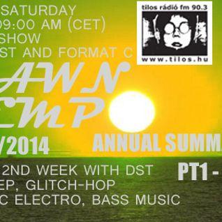 Annual Summary 2014 pt1 Dubstep - special set by DST @ Tilos Dawn Tempo 13/12/2014