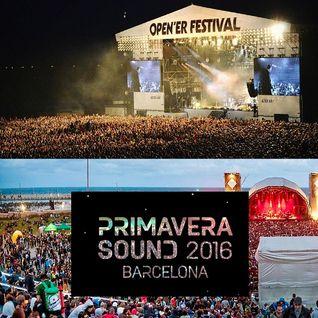 """MANO FESTIVALIS: įspūdžiai iš šių metų """"Primavera Sound"""" ir """"Open'er"""" festivalių"""