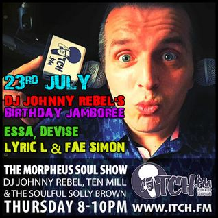 DJ Johnny Rebel, Ten Mill, Soulful Solly Brown - Morpheus Soul Show - 12