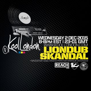 LIONDUB & SKANDAL - 12.02.15 - KOOLLONDON [+NAVIGATOR, SOULTRAIN & PHANTOM WARRIOR INTERVIEW]