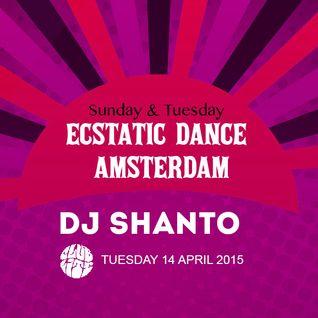 DJ SHANTO | ECSTATIC DANCE AMSTERDAM | 14042015