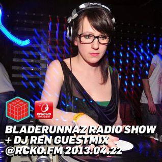 Bladerunnaz Radio Show w/ Mentalien @ RCKO.FM 2013.04.22 (guest: DJ REN)