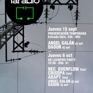 Angel Galán @faradio 15/09/2011