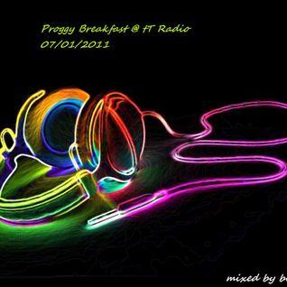 Proggy Breakfast @ tT Radio 07/01/2011