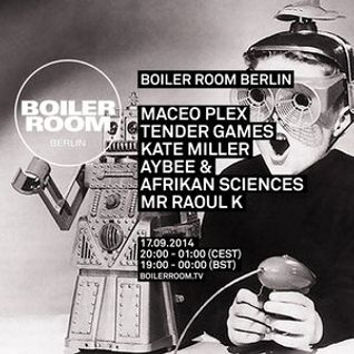 Maceo Plex @ Boiler Room (Berlin) - 17-09-2014