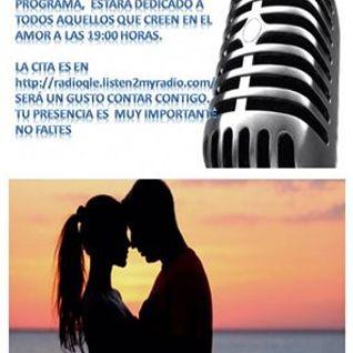"""Programa """"El Rincón Romántico"""", 20 de septiembre del 2014."""