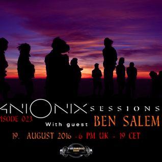 Ani Onix- Ani Onix  Sessions [19-August 2016] On TM Radio