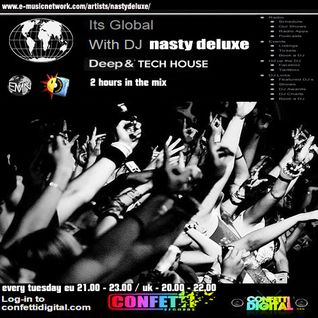 Dj Nasty deluxe - It's global - Confetti Digital - UK - London - 30. 06. 2015