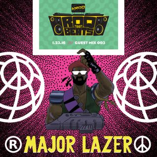 ROQ N BEATS - DJ JEREMIAH RED 1.23.16 - GUEST MIX: MAJOR LAZER - HOUR 1