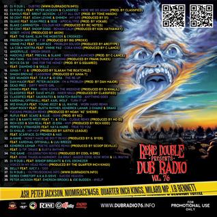 DJ R DUB L Present's DUB RADIO #76 (225 min Un-cut Mix) 2013 FOR PROMO USE ONLY!