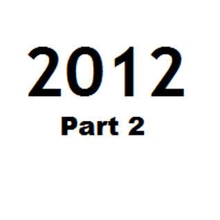 Great Tunes of 2012 - Part 2