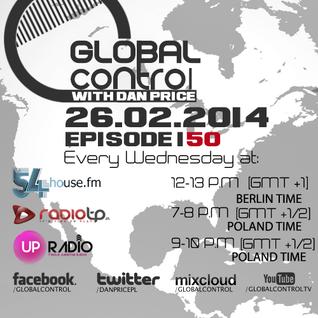 Dan Price - Global Control Episode 150 (26.02.14)