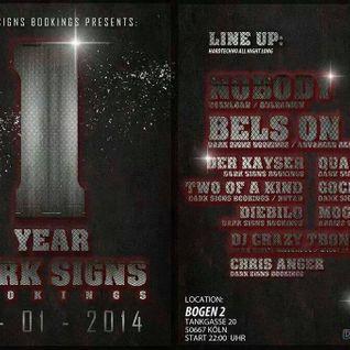 Chris Anger @ One Year Dark Signs // 10.01.14 Bogen 2 - Köln