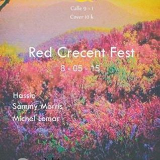 Hassio@Red Crecent fest Calle 9+1 8 Mayo 2015