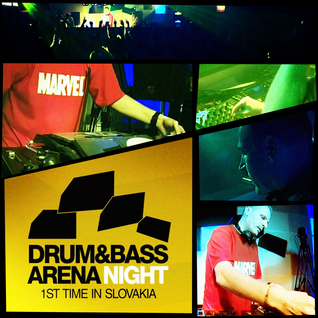 L PLUS 18-04-2014 @ DRUM&BASS ARENA live from SPY club, Partizanske, Slovakia