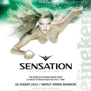 Mr White - Live @ Sensation The Ocean of White Thailand - 18.08.2012