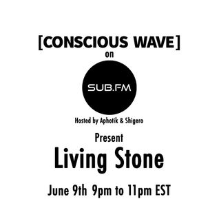 Conscious Wave Presents - Living~Stone Live on Sub.FM June 9 2016