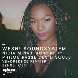 Wesh ! SoundSystem : Nidia Minaj & Philou Passe Des Disques  - 26 Février 2016