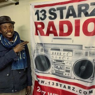 Ras Jammy and Family on 13 Starz Radio guest Roots By Nature 8 oct 2016