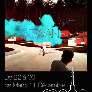 TWAN @ MAXIDAWA RADIO SHOW / RCV99fm / live from Moog (Lille-Fr) / 2012-12-11