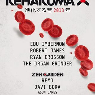 Edu Imbernon - Live at Kehakuma (Space Ibiza) - 20-Jul-2013