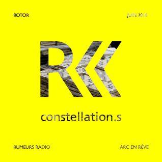 RUMEURS - CONSTELLATION.S - Lionel Devlieger, ROTOR (extraits) - 02 06 2016