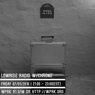 LowRise Radio w/Chrono 07/01/2016
