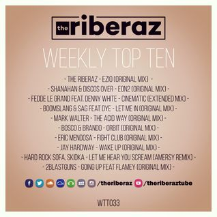 The Riberaz Weekly Top Ten 033