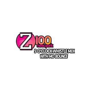 Z100 NYC 5'OClock Whistle 8.5.16