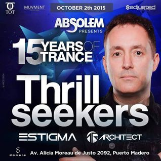 Estigma Warm Up Set @ Absolem w/ The Thrillseekers 02/10/2015