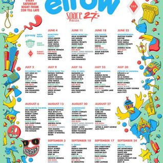 Dusky - live at Elrow Ibiza 2016 Week 8 (club Space) - 23-july-2016