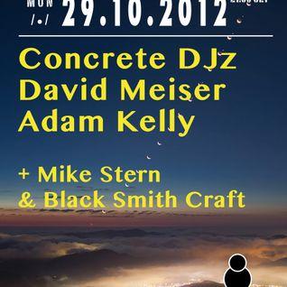 Adam Kelly @ Bside show (29-10-2012)