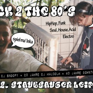 Back II the 80's - DJ Snoopy's Funky Electro Mix part1 live@Staubsauger Leipzig