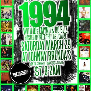 It's The Year 1994 Bangers & Blends Mixed by Emynd