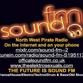 DJ Dave Bolton (The Elektrosexuals) - Mix for Sound FM 11th May 2013