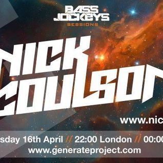 BassJockeys Sessions Show - 16.04.14 with guestmix by Nick Coulson