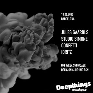 OFF Week Showcase 2015 l Studio Simone @ Religion Clothing, Barcelona