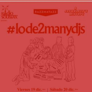 #lode2manydjs mixtape (red edition)
