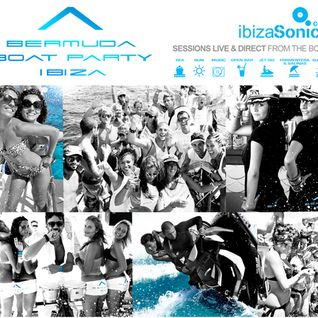 Alvaro Martin / Live broadcast from Bermuda boat party / 26.06.2012 / Ibiza Sonica