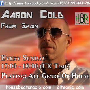 Aaron Cold - Live @ House Beats Radio  [2012-04-01]