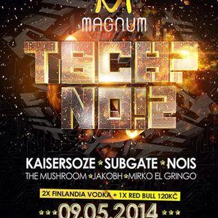 Mirko El Gringo @ Tech?No! 2, Magnum Club Prague (09-05-14)