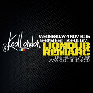 LIONDUB & REMARC IN NYC - 11.04.15 - KOOLLONDON [JUNGLE DUBPLATE PRESSURE]
